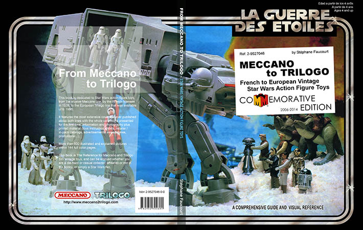 Meccano to Trilogo cover (commemorative edition)